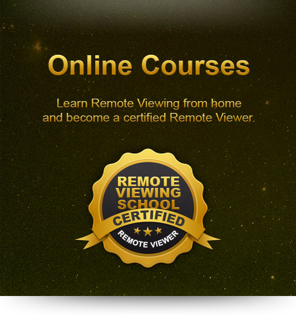 Online Courses to become a Certified Remote Viewer