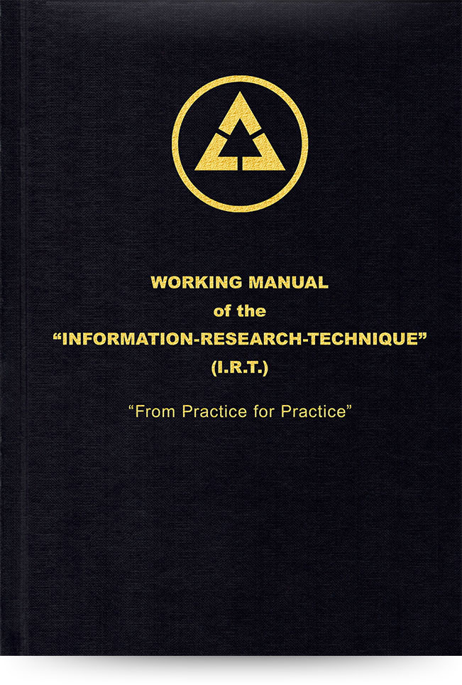 Working Manual of the Information-Research-Technique – From Practice for Practice